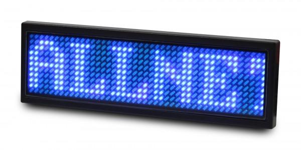ALLNET Namensschild elektronisch programmierbar Seriell - Farbe blau