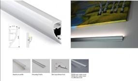 Synergy 21 LED U-Profil 200cm, ALU062