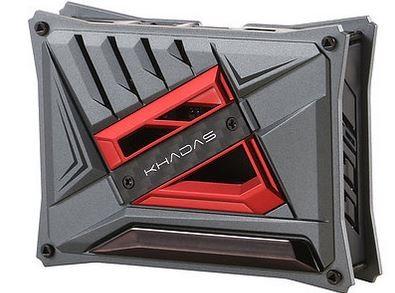 Khadas DIY Case Red VIMs DIY Case, with heavy metal plate