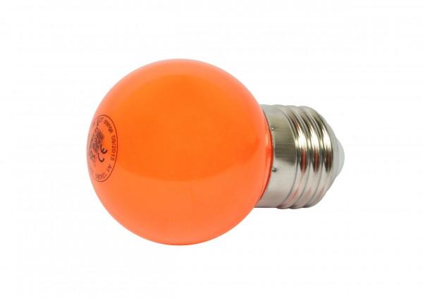 Synergy 21 LED Retrofit E27 Tropfenlampe G45 orange 1 Watt für Lichterkette