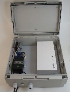 Gigaset PRO Outdoor Gehäuse für DECT Basis N720 230VAC Version