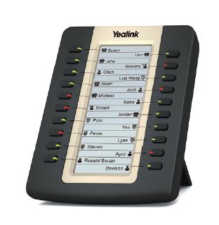Yealink SIP zub. Extension EXP20 LCD Keypad mit 20 Tasten
