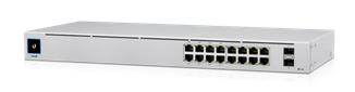 Ubiquiti Unifi Switch Gen2 / 16 Ports / 256W / PoE / 2x SFP / USW-16-POE