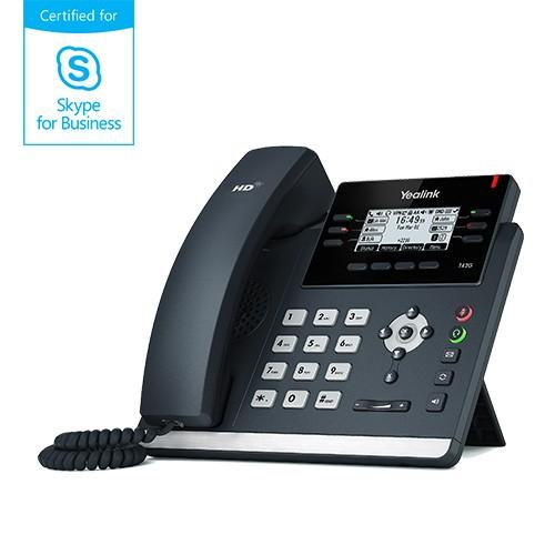 Yealink MSFT - Skype4Business T42S IP-Telefon Advanced PoE