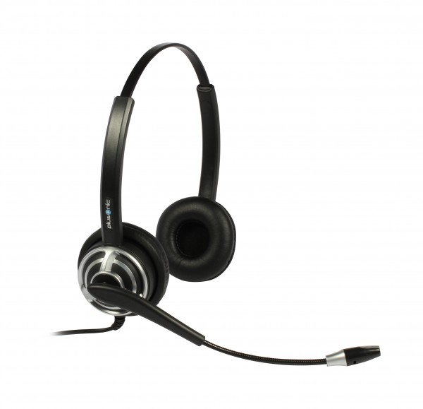 Plusonic Headset 8.2P, binaural, NC, Wideband