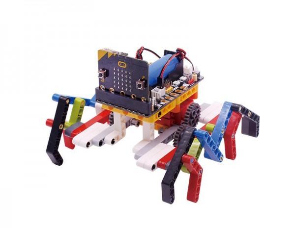 Yahboom spider:bit Building Block Pack für micro:bit (mit micro:bit Board)