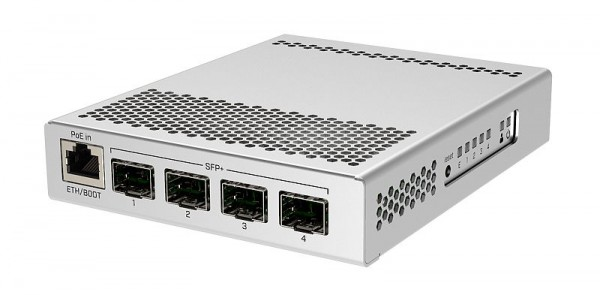 MikroTik Cloud Router Switch CRS305-1G-4S+IN, 4x SFP+, 1x Gigabit