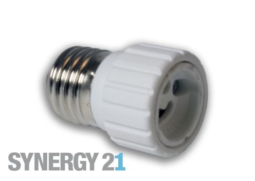Synergy 21 LED Adapter für LED-Leuchtmittel E27->GU10