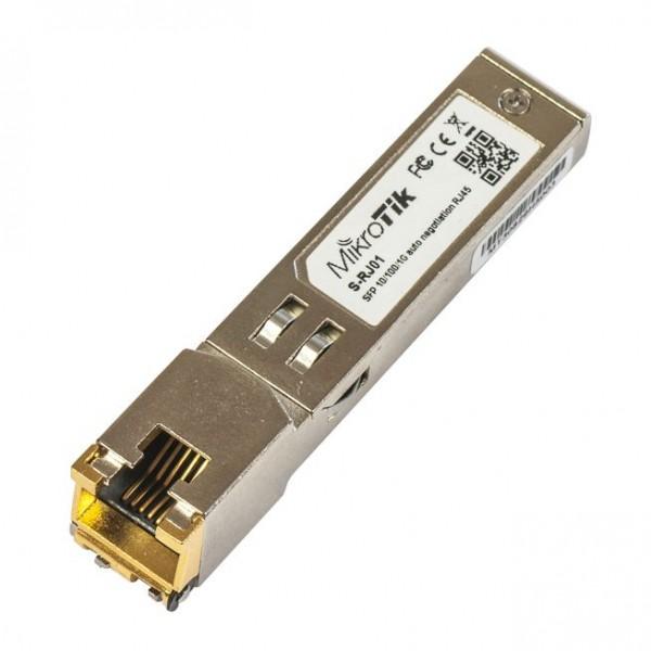Mikrotik Zubehör RJ45 SFP 10/100/1000M copper module