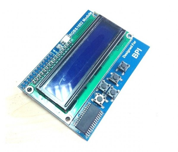banana pi zbh. LCD1602 Display Module