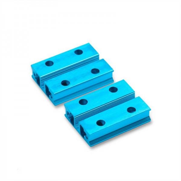 """Makeblock """"Slide Beam 0824-032 Blue (Pair)"""" / 2x Gleitschiene 0824-032 für MINT Roboter"""