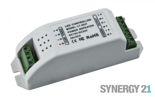Synergy 21 LED Flex Strip zub. RGB Controller DC12/24V + zu - Konverter