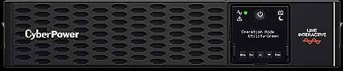 "CyberPower USV, PR Tower/19""-PRIII-Serie, 1500VA/1500W, 2HE, Line-Interactive, reiner Sinus, LCD, USB/RS232,"