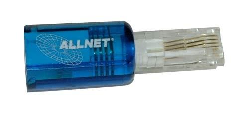Kabel TK Hörerkabel original Untangler blau transparent