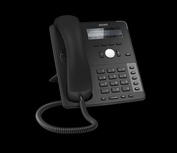 SNOM D715 VOIP Telefon (SIP), Gigabit o, Netzteil *NEU* schw