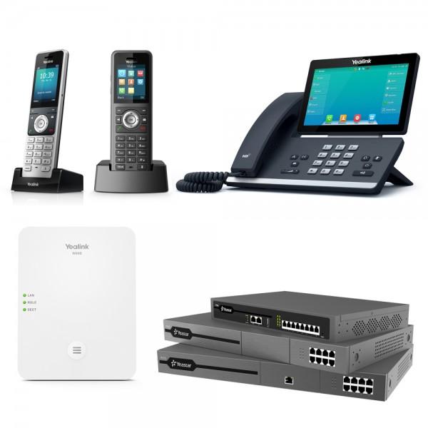 Yeastar + Yealink VoIP - Enterprise & Business Bundle
