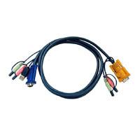 Aten Verbindungskabel SPDB, 3m, USB, Audio