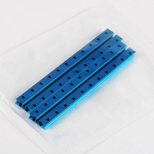 """Makeblock """"Slide Beam 0824-176 Blue (Pair)"""" / 2x Gleitschiene 0824-176 für MINT Roboter"""
