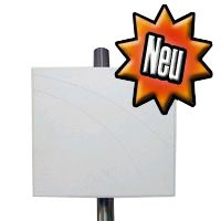 ALLNET Antenne 2,4 GHz 14dBi Flat Patch outdoor N-Type