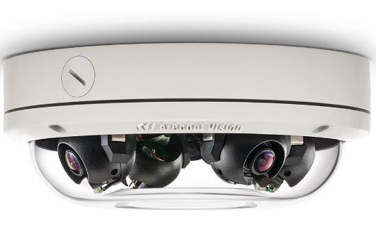 Promo! Arecont Vision Multisensor Kamera AV12276DN inkl. 4 Objektiven
