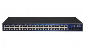 ALLNET ALL-SG8452M / 48 Port Gigabit Kupfer + 4x SFP smart-managed, lüfterlos