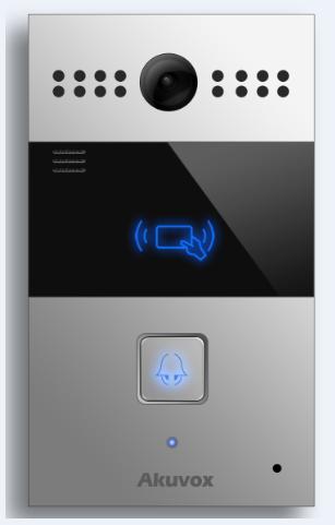 Akuvox TFE R26C IP Door SIP Intercom with one Button (Video & Card reader)