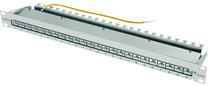 Patch Panel 24xTP, CAT6E, 250Mhz, Lichtgrau, Telegärtner,