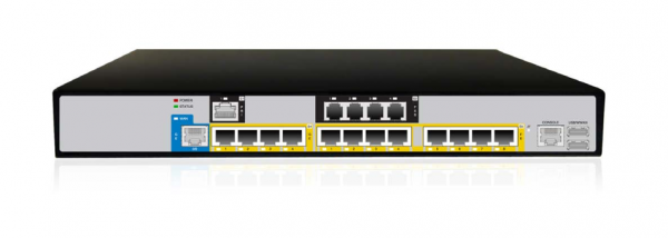 Audiocodes Mediant 800C - Mediant 800C with 2 E1/T1, 4 FXS and 4 GE ports