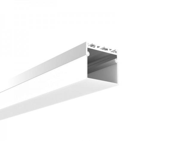 Synergy 21 LED U-Profil 200cm, ALU065 weiss