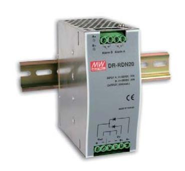 Mean Well Netzteil - 20A Power Supply Redundancy Module Hutschiene