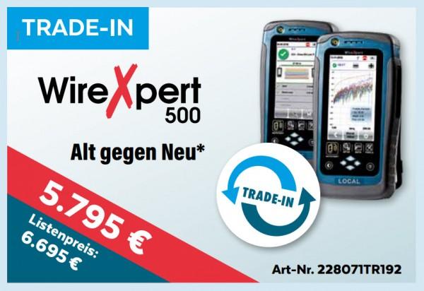 softing(Psiber) WireXpert 500, *TRADE-IN*, Promo bis 15.1.2020, Mess-Menü, Trade-In