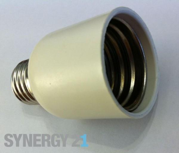 Synergy 21 LED Adapter für LED-Leuchtmittel E27->E40