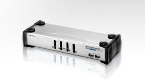 Aten KVM-Switch 4-f. Audio/VGA/USB/DVI CS-1764, EB897,(Tasta