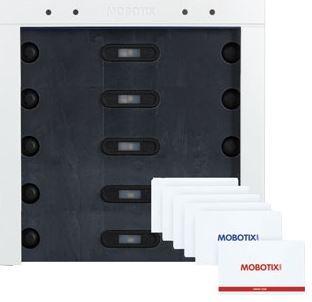 Mobotix BellRFID Zutrittsmodul für T26 Mx-A-BELLC-s **silber*