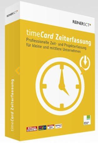 REINER SCT timeCard 6 Zeiterfassung Grundversion 5 User - ESD