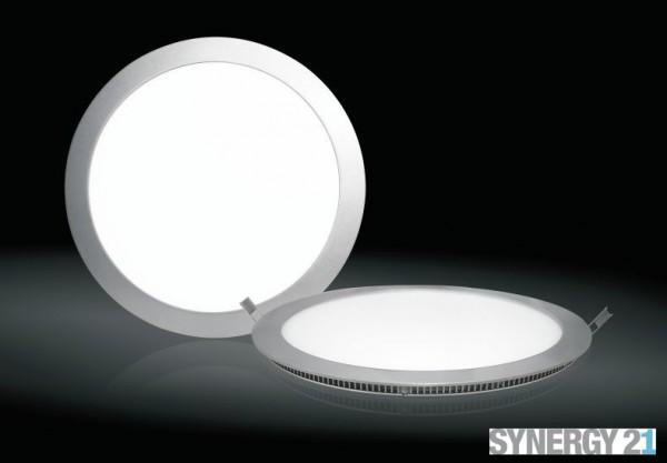 Synergy 21 LED light panel rund 18W warmweiß 2700k