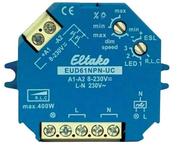 Eltako EUD61NPN-UC Universal-Dimmschalter