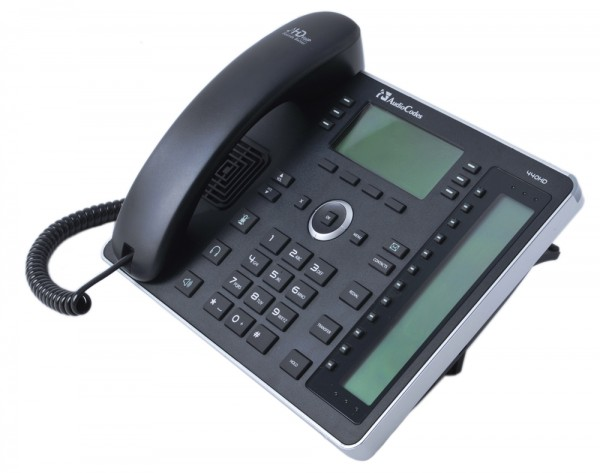 AudioCodes SfB IP-Phone 440HD, Gigabit, PoE, Black