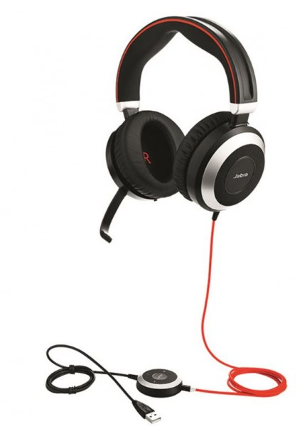 Jabra Evolve 80 Headset Duo 3,5mm / USB