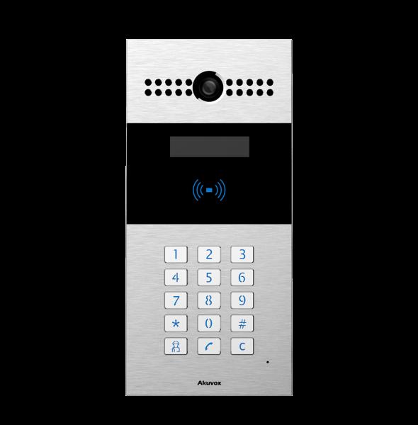 Akuvox TFE R27A IP Door SIP Intercom with Keypad (Video & Card reader)