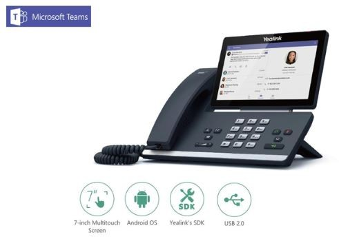 Yealink MSFT - Teams Edition T5 Series T56A Android based