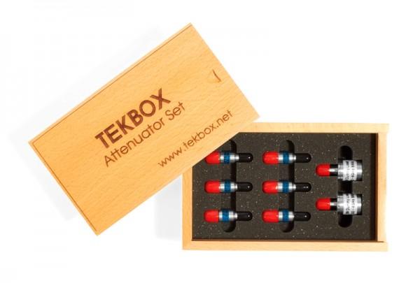 """Tekbox TBAS2 / Abschwächer-Set """"Typ SMA"""" inkl. 2 x 50 Ohm Terminatoren, 1W"""