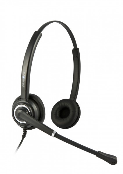 Plusonic Headset 7.2P, Binaural, NC, Wideband