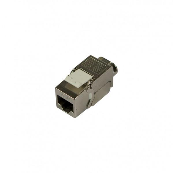 Keystone, Modul, TP-Buchse(RJ45), CAT6A, 500MHz, Slim-line 20mm, Synergy 21,