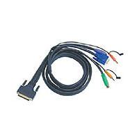 Aten Verbindungskabel DB25,Audio, 3m