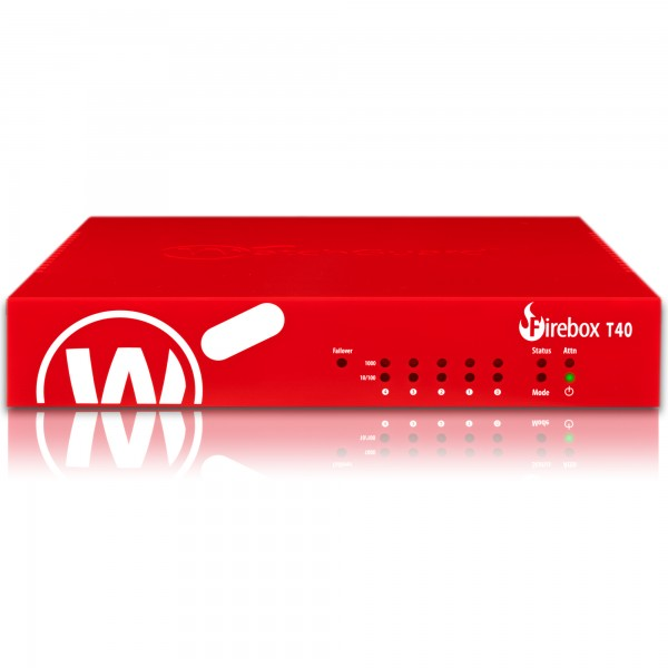 WatchGuard Firebox T40 with 3-yr Total Security Suite (EU), *Promo 1.4.-30.06.2021,
