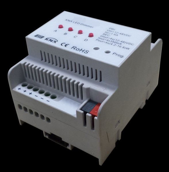 Synergy 21 LED Controller EOS 08 KNX Dimmer 4*700mA Hutschiene