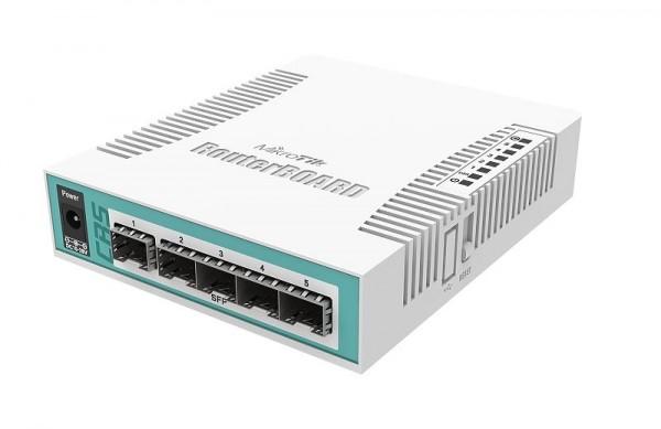MikroTik Cloud Router Switch CRS106-1C-5S, 5x SFP, 1x Combo