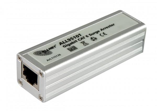 ALLNET / ALL95101 TP Cat 6 /ADSL / VDSL / ISDN Blitz-/Überspannungsschutz