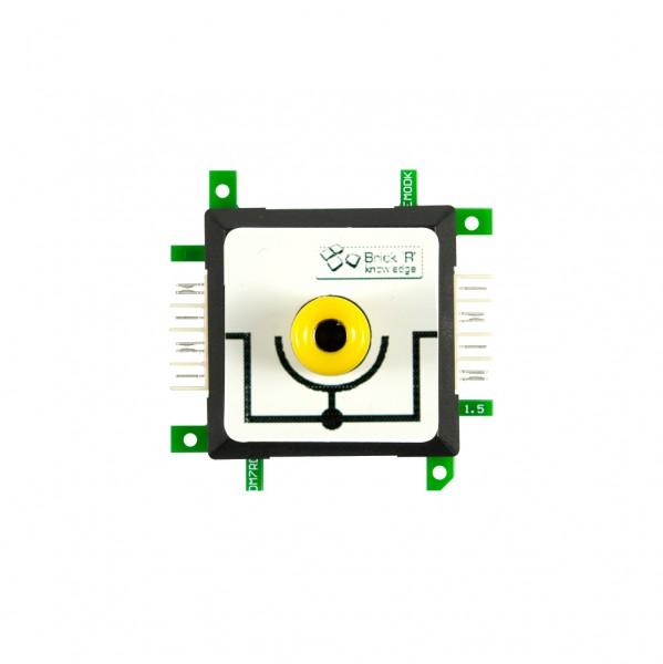 ALLNET Brick'R'knowledge Messadapter 4mm Inline Gelb